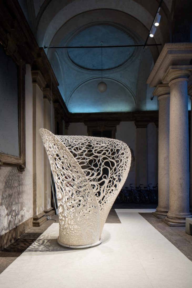 Thallus For White In The City By Zaha Hadid Architects