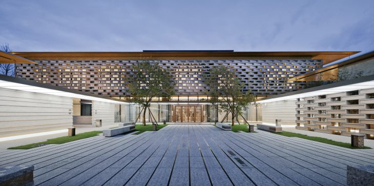 Tianjin Luneng Taishan College by Lacime Architectural Design ...