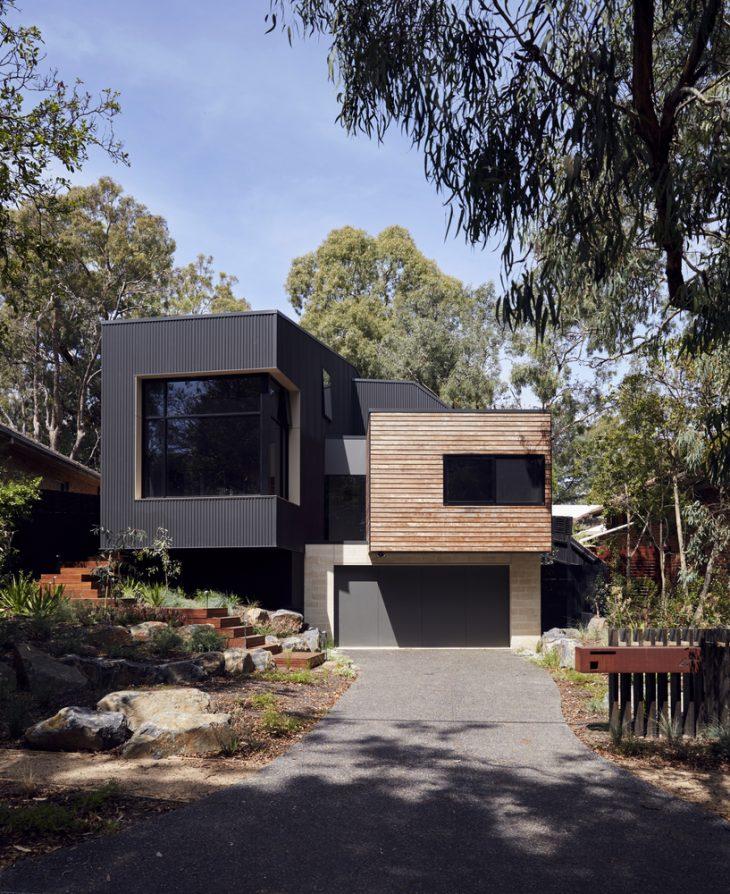 Native Home Garden Design: Blackburn House By ArchiBlox