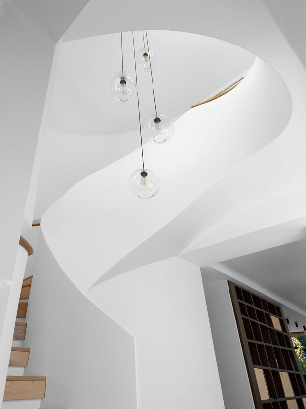 100 Best Corridors Stairs Lighting Images By John: The Pool House By Luigi Rosselli Architects
