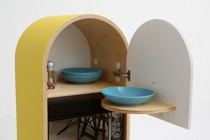 Lolo Micro-Kitchen By Tatyana And Mikhail Repin - Archiscene