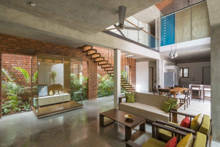Brick House By Architecture Paradigm Archiscene