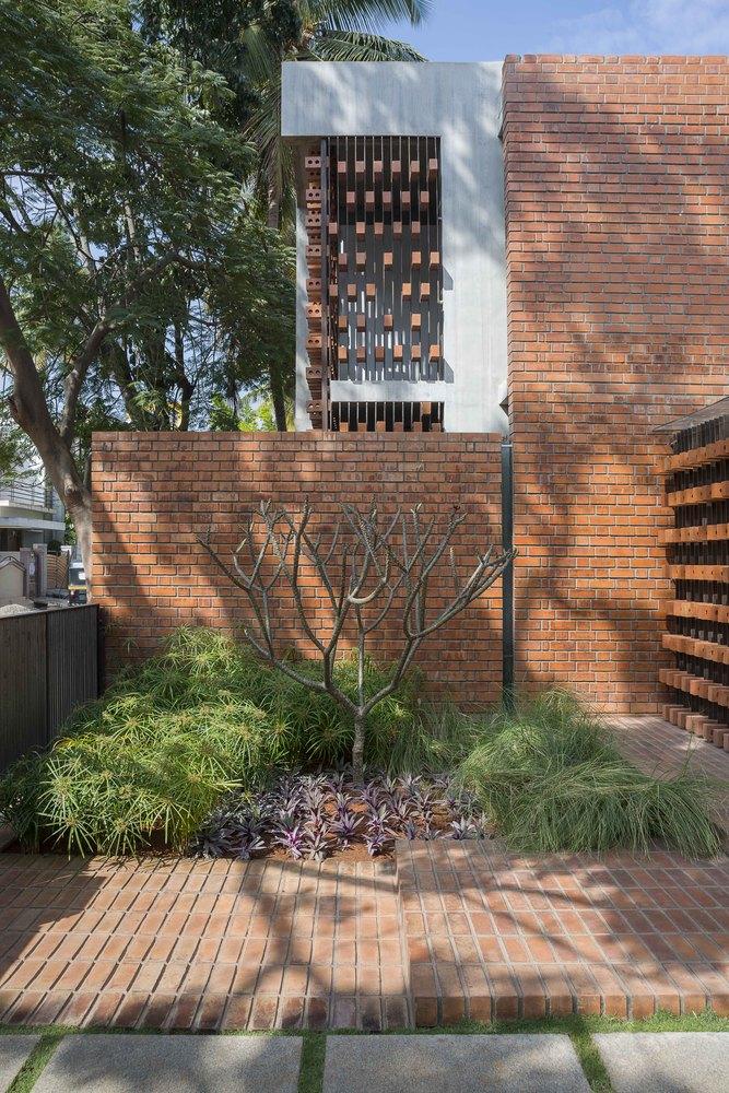 Brick House By Architecture Paradigm Archiscene