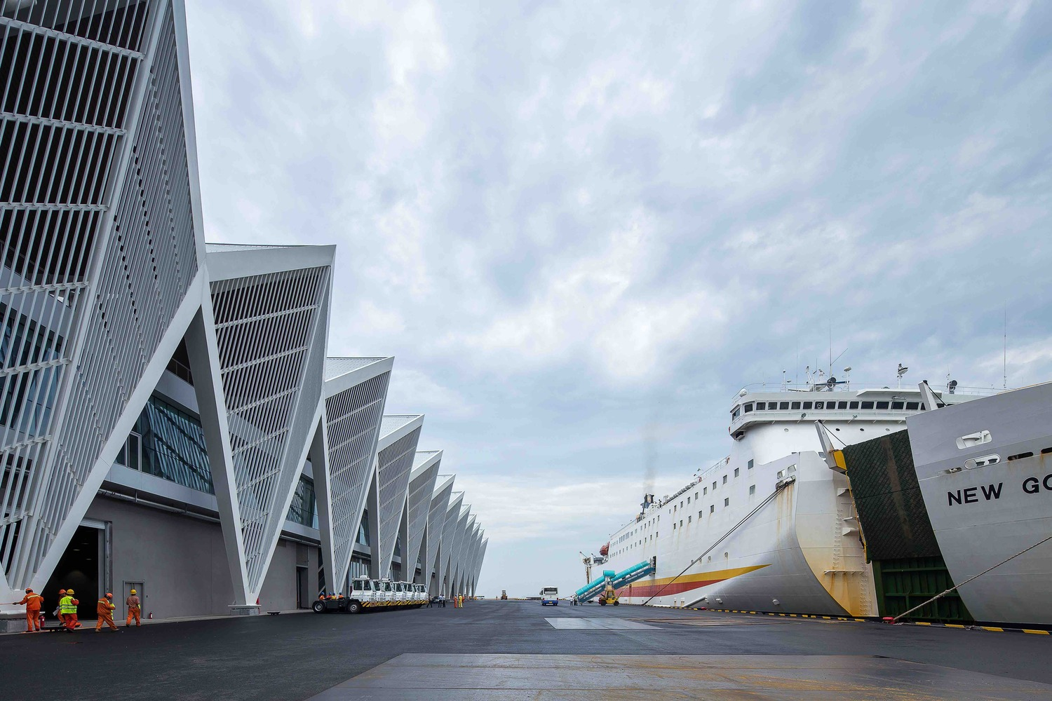 Qingdao Cruise Terminal By Ccdi Mozhao Studio Jing Math Wallpaper Golden Find Free HD for Desktop [pastnedes.tk]