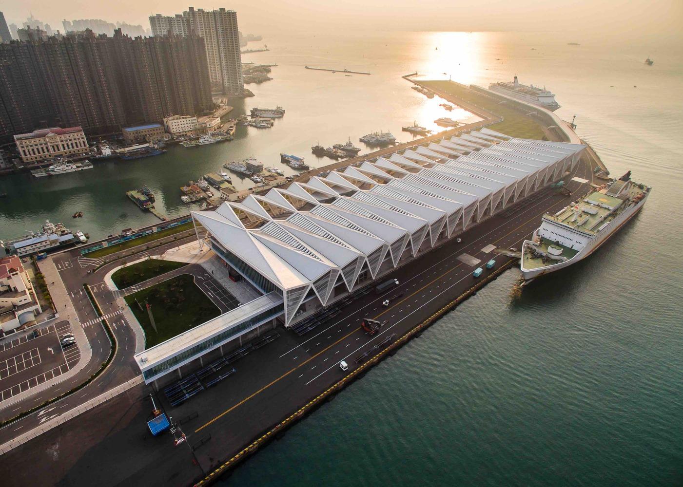 Home Design Studio Apartments Qingdao Cruise Terminal By Ccdi Mozhao Studio Amp Jing