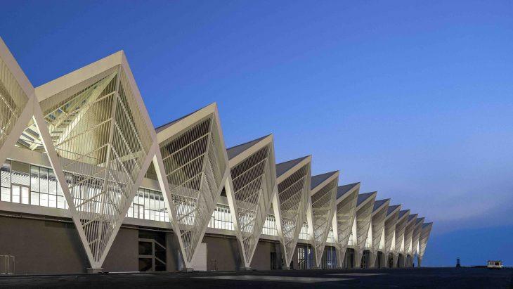 qingdao cruise terminal by ccdi - mozhao studio  u0026 jing studio - archiscene