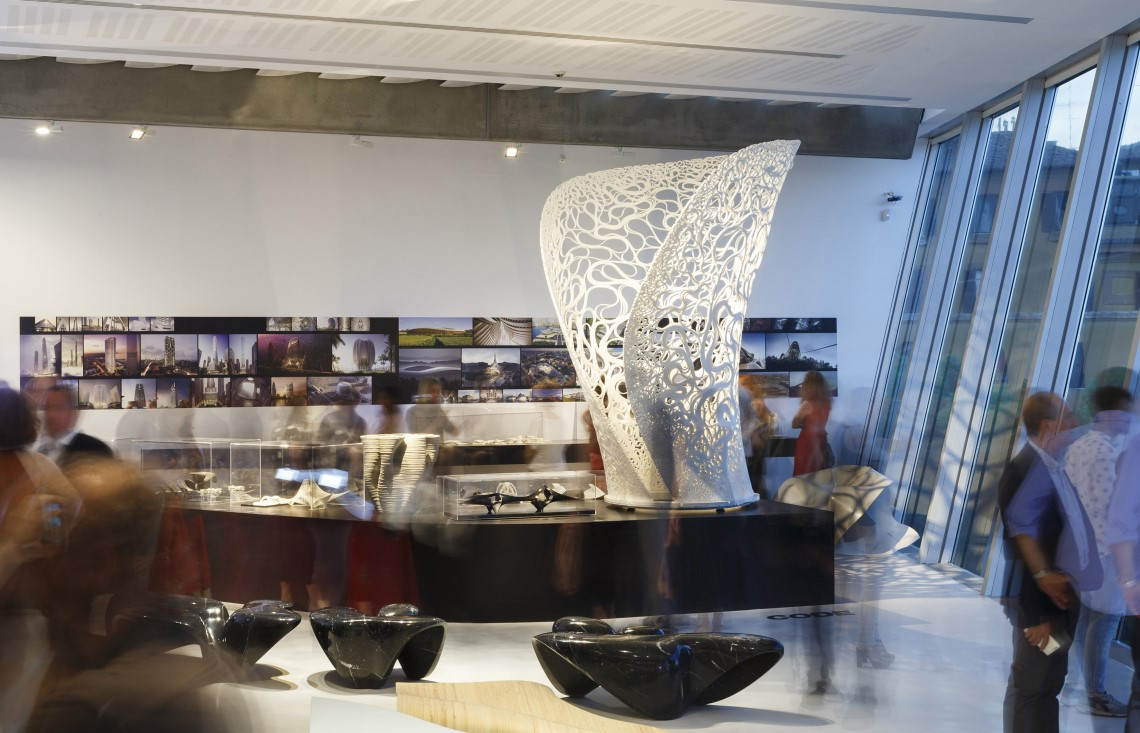 Zaha hadid in italy at the maxxi museum archiscene for Architecture firms in italy
