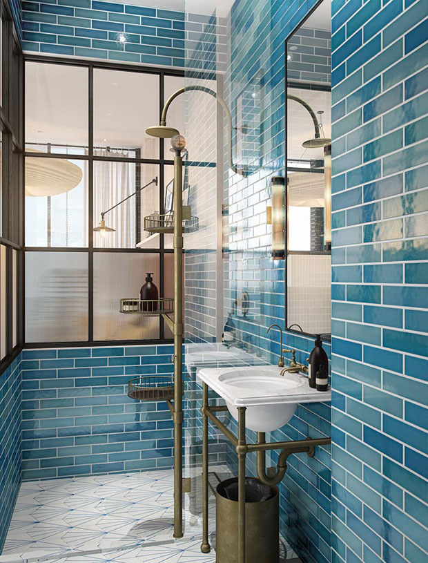 Take a tour of the williamsburg hotel in new york for Design hotel williamsburg