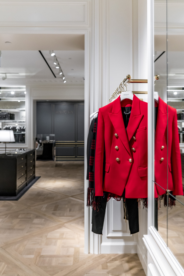 16e43f6b French luxury fashion and couture house, Balmain opened first standalone  store in Southeast Asia, situated within Singapore's iconic The Shoppes at  Marina ...