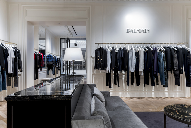 Balmain S First Store In Southeast Asia