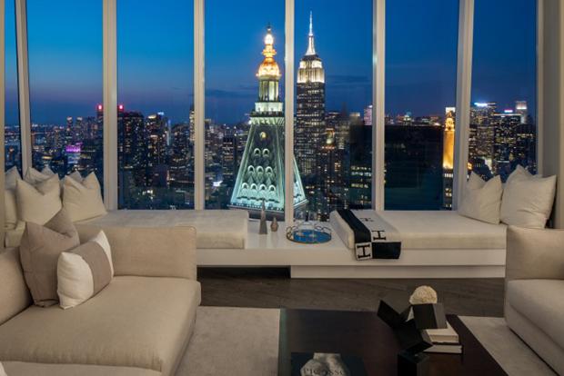 Manhattan residence by martin brudnizki design studio for Madison square park apartments