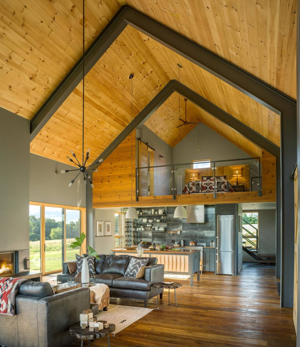 Furniture Modern Howchow Furniture Design For Cozy Home: Modern Barn By Joan Heaton Architects