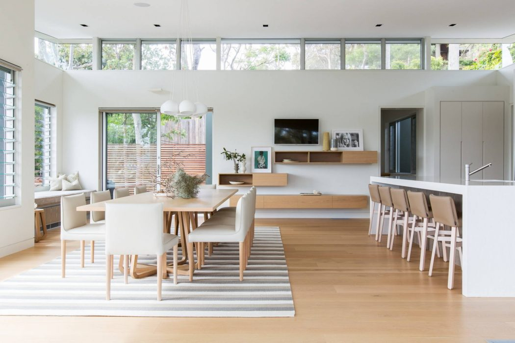 Palm beach south by woods warner archiscene your for Comedores minimalistas