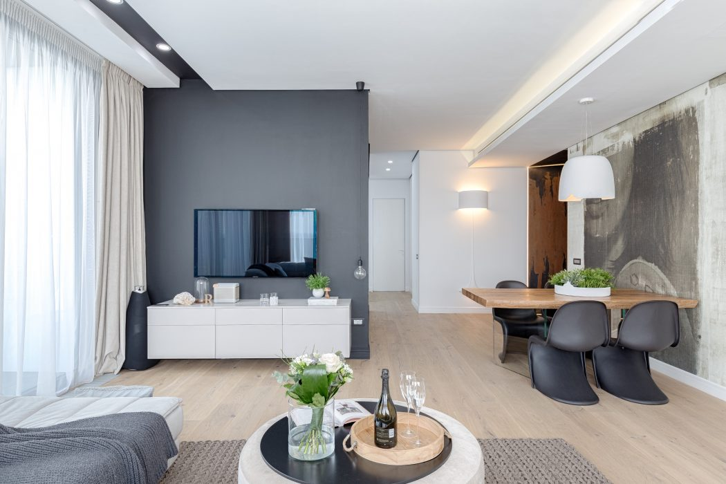 Bucharest Penthouse By Ralu Dofin Archiscene Your