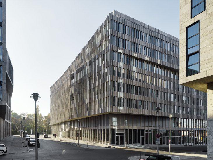 Office Building Quot Bertha Berlin Quot By Barkow Leibinger