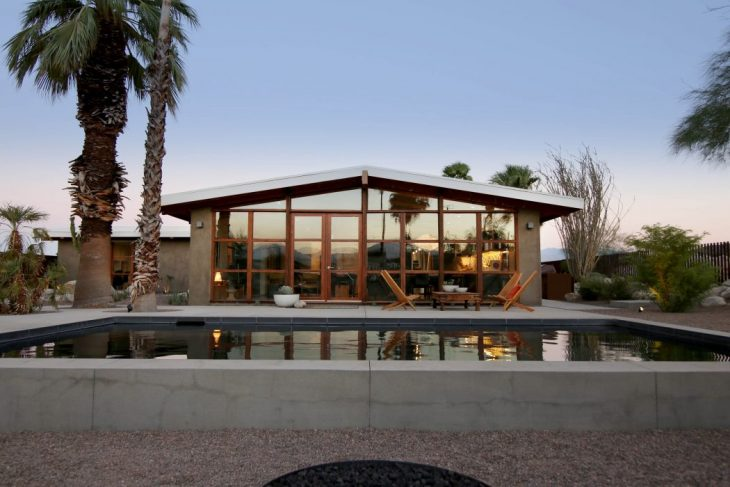 Chino Canyon House By Hundred Mile House Archiscene Your Daily Architecture Design Update