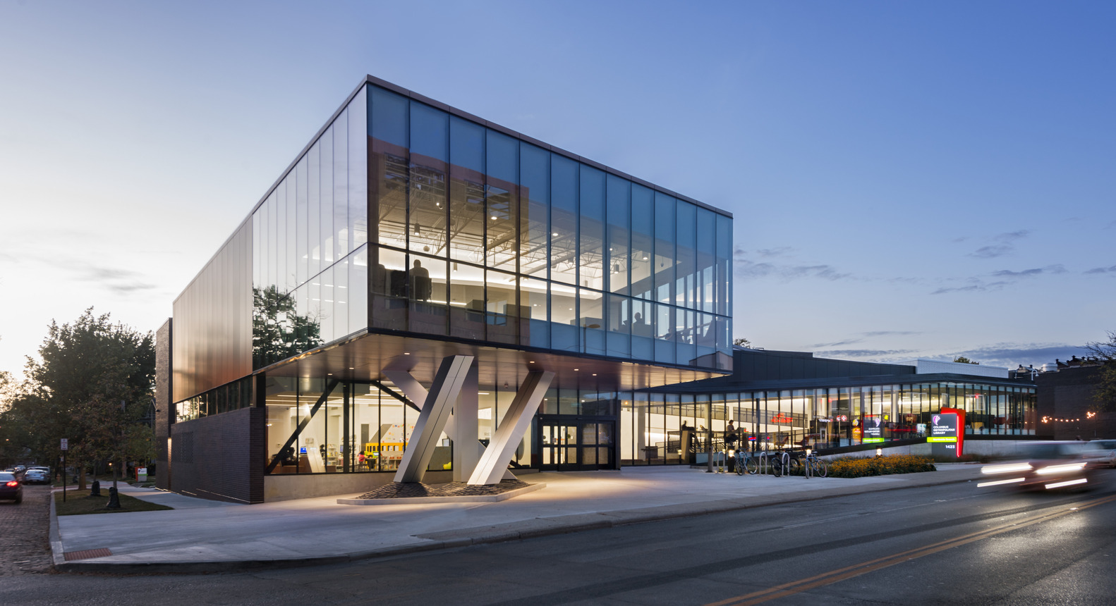 Northside Library By Nbbj Archiscene Your Daily