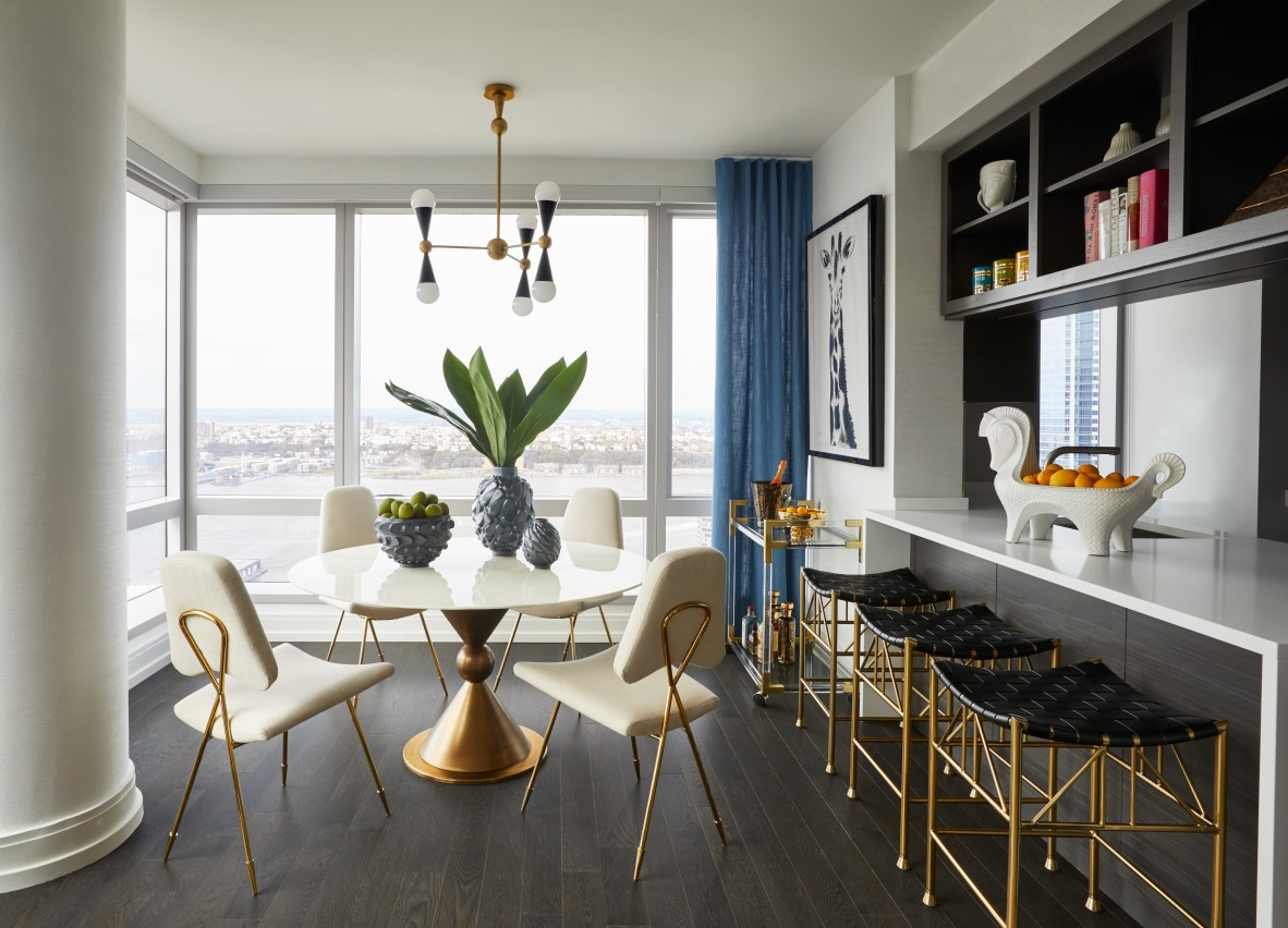 Glamorous Model Residence At 555ten By Jonathan Adler Archiscene