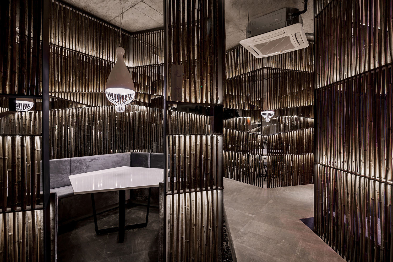 Innovative restaurant from by yiduan shanghai for Interior design agency shanghai