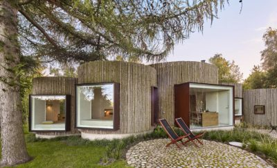 Jan Henrik Jansen's impressive Birkedal - Møn's round house in Denmark