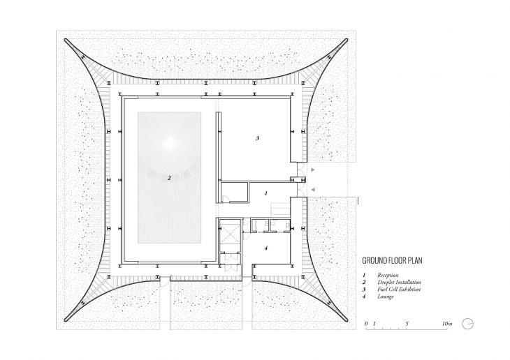 Vantablack Pavilion For Winter Olympics 2018 By Asif Khan