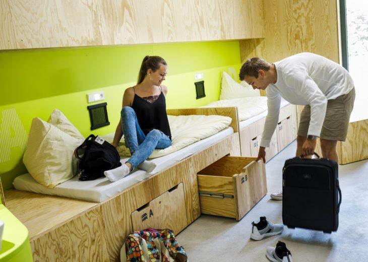 Yshaped Sports Youth Hostel By Lava Archiscene - The-impressive-lava-modular-sofa-system