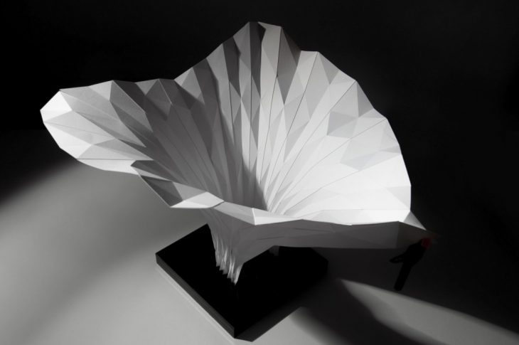 Zaha Hadid Architects Evolution Exhibition