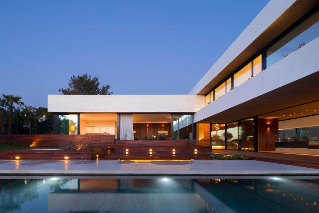 House in calvia olarq osvaldo luppi architects archiscene