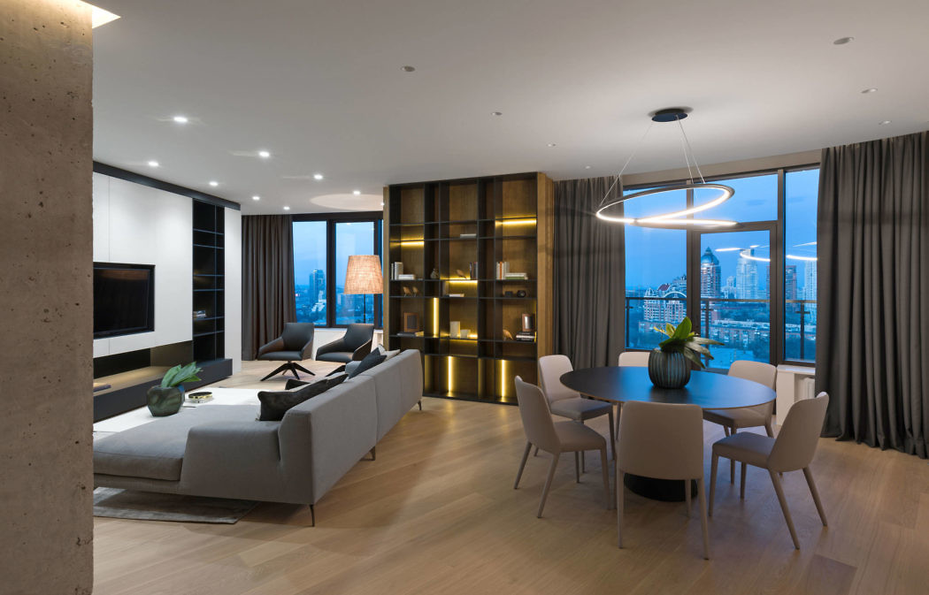 Skyline Apartment by MONO Architects - Archiscene - Your