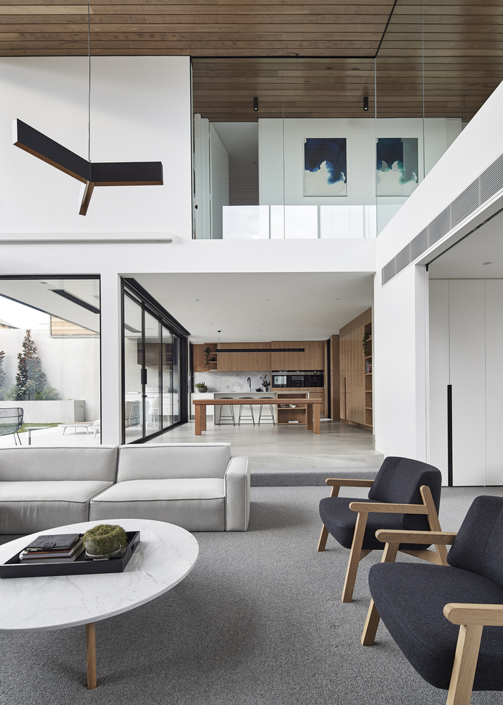 Bloomfield house by fgr architects archiscene your daily - Pinterest interior design living room ...