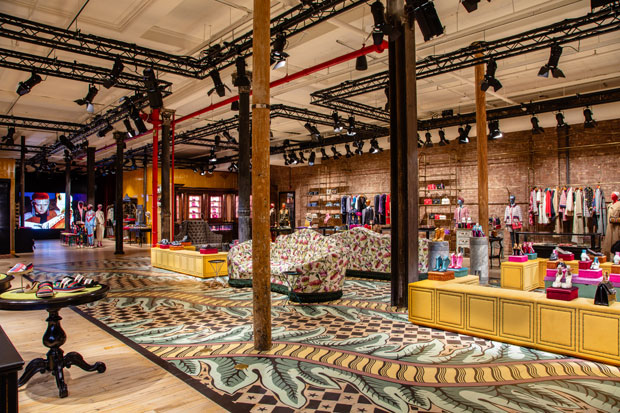 Gucci Wooster Opens In Soho