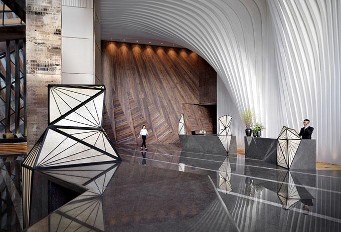 Grand hyatt xi an by ltw designworks archiscene for Design hotel xian