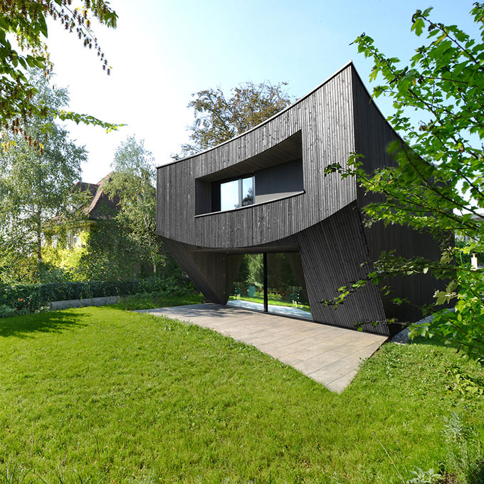 Casa curved by daluz gonzalez architekten archiscene - Architekten basel ...