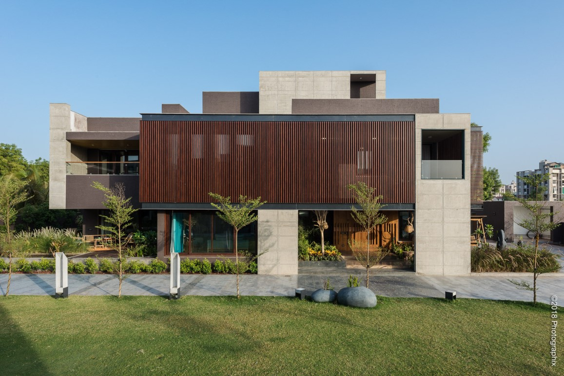 The Screen House By The Grid Architects Archiscene