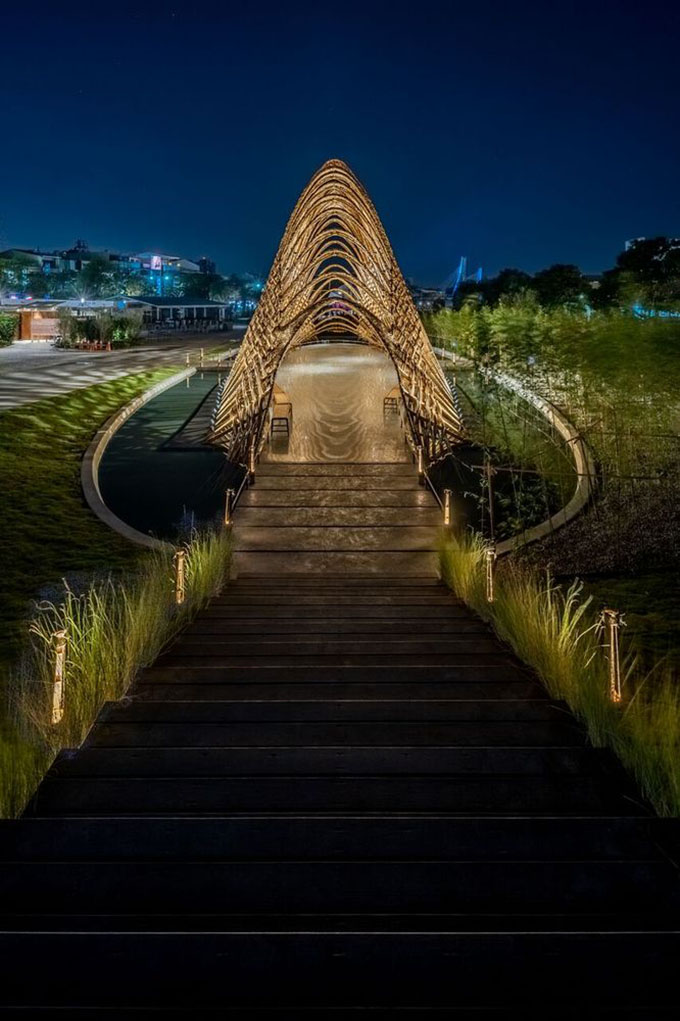Bamboo Pavilion By Zuo Studio Archiscene Your Daily