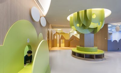 4 Kindergartens for Gymboree by Vudafieri-Saverino Partners