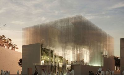 Italian Pavilion of Expo 2020 Dubai Project by Dodi Moss and Edoardo Tresoldi