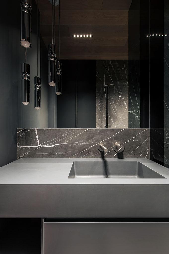 Minimalist Marble Bathroom Sink
