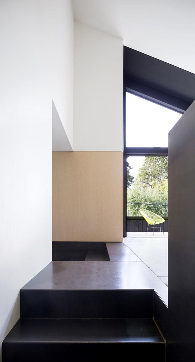 Re Split Level Foyer From: Split Level House By D'Arcy Jones Architects