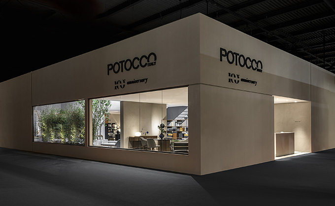 Potocco at Salone del Mobile 2019