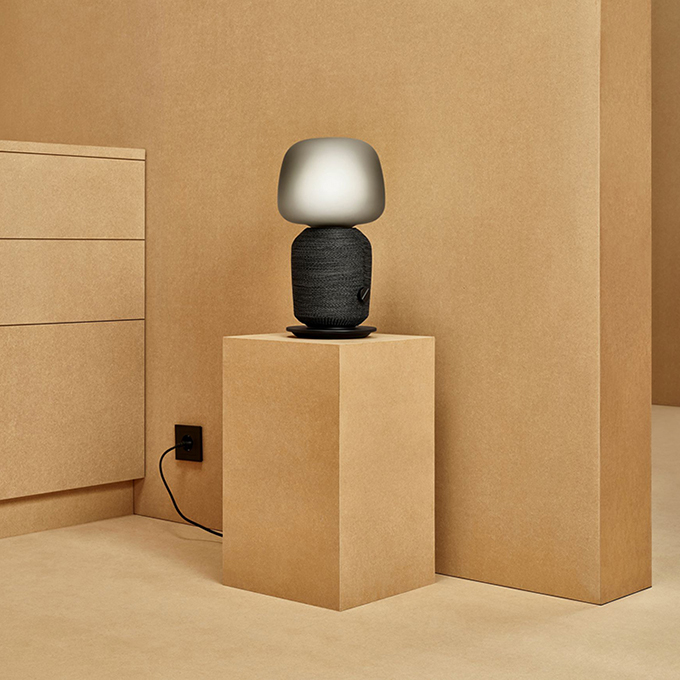 SYMFONISK IKEA collaborates with SONOS on Table Lamp and Book-Shelf Speaker