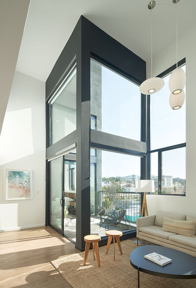 The Line Lofts by SPFarchitects