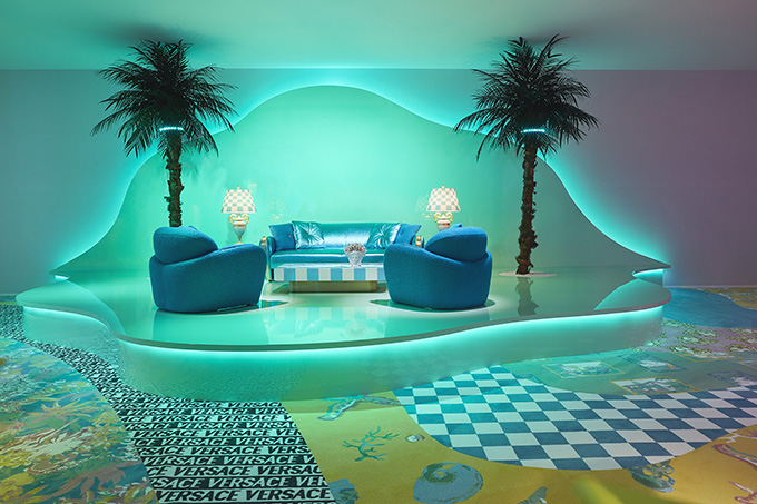 VERSACE Home Collection at Fuori Salone for Milan Design Week 2019