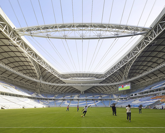 Al Janoub Stadium In Al Wakrah, Qatar by Zaha Hadid Architects (2)