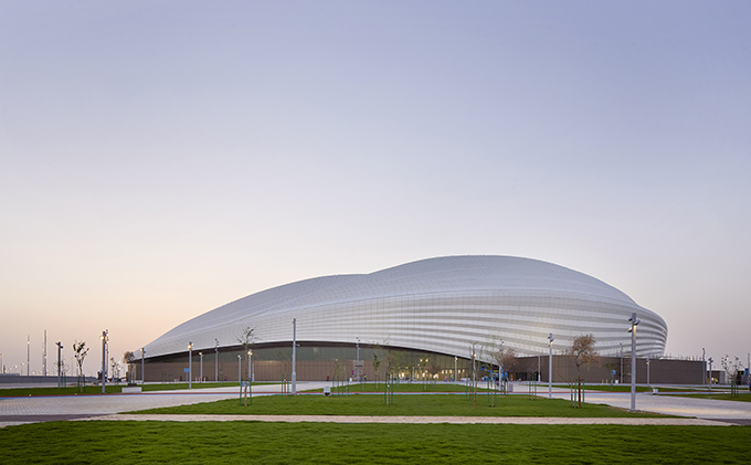 Al Janoub Stadium In Al Wakrah, Qatar by Zaha Hadid Architects