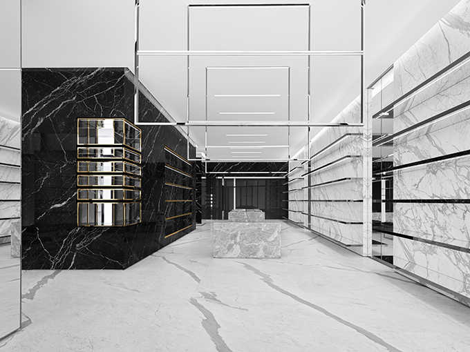 Discover the new Saint Laurent Beijing China World Store
