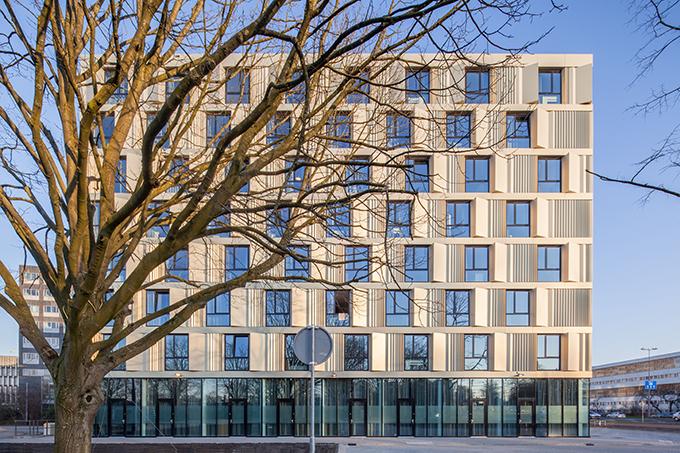 Erasmus Campus Student Housing by Mecanoo Architekten (1)