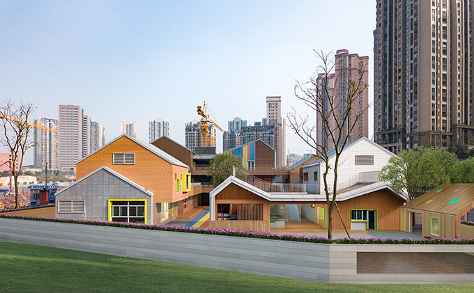 Hongkong Land (Chongqing) Yorkville North Kindergarten by IDO