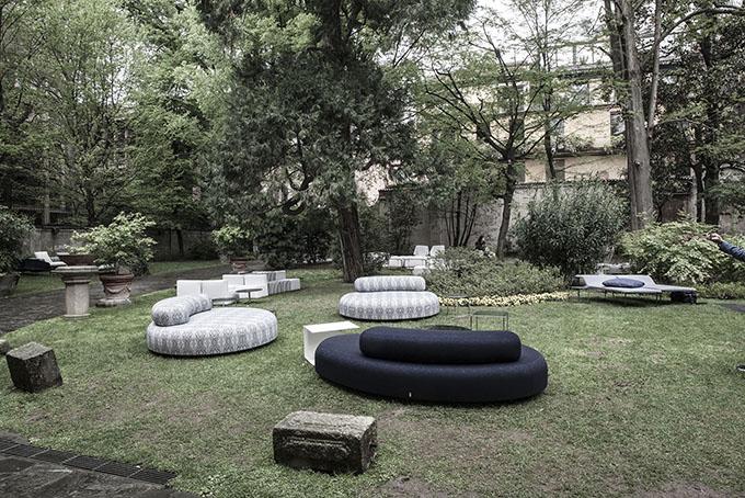 Living Divani 50+30 Exhibition at Palazzo Crivelli