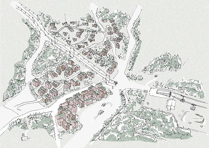 Mosetertoppen Ski Resort by Reiulf Ramstad Arkitekter
